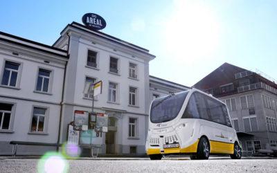 Communiqué de presse: Bus autonome en service depuis un an sur une ligne régulière