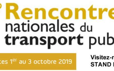 Visitez Trapeze France aux 27e Rencontres nationales du transport public